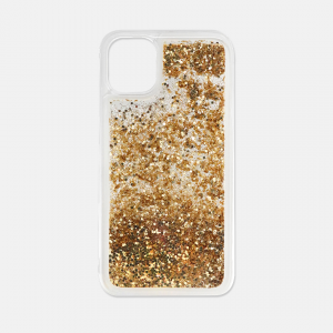 gold glitter iPhone 11 case