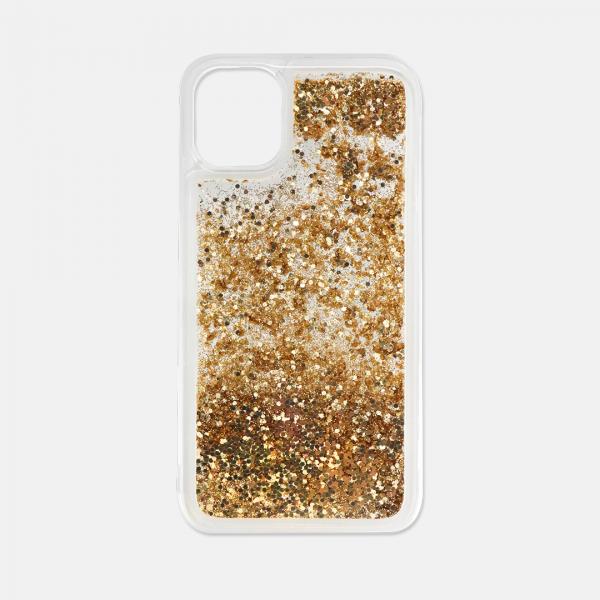 gold glitter iPhone 11 case